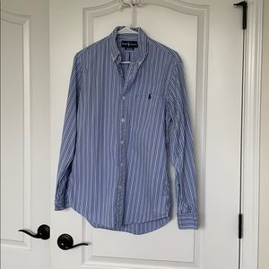 Ralph Lauren Men's Custom Fit Button-Down
